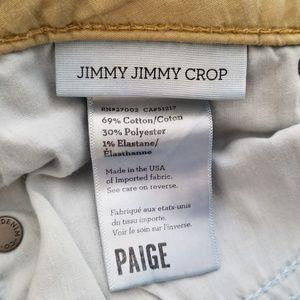 PAIGE Jeans - Paige Jimmy Jimmy Crop Jeans